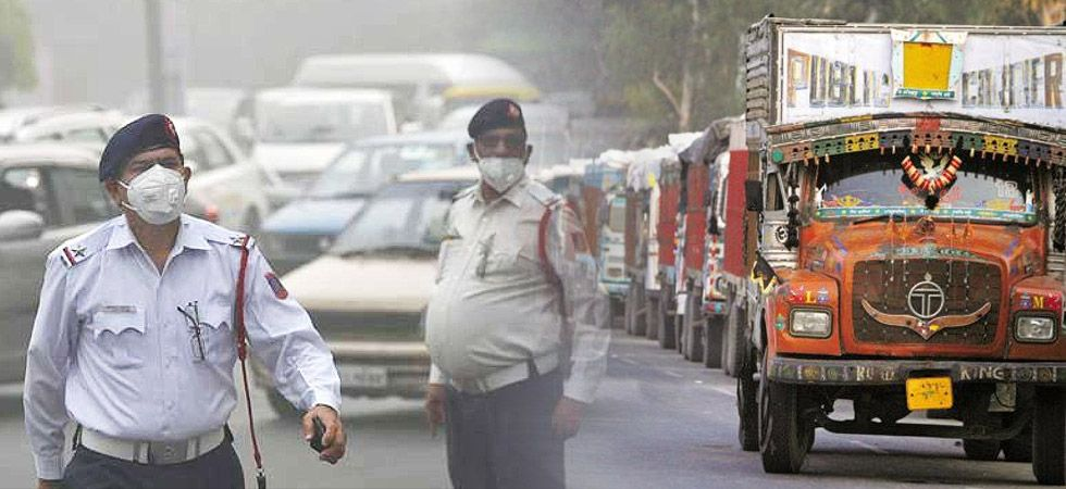 entry of truck in Delhi Restricted to 10 November