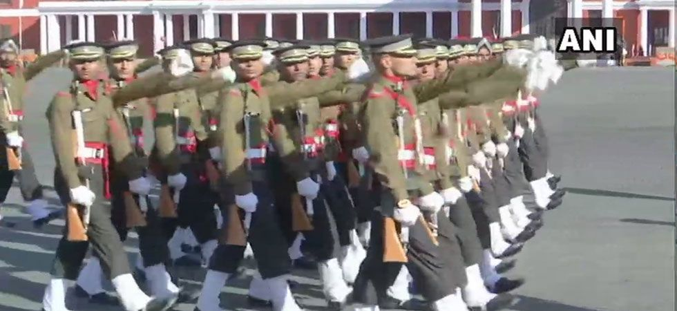 passing out parade in ima